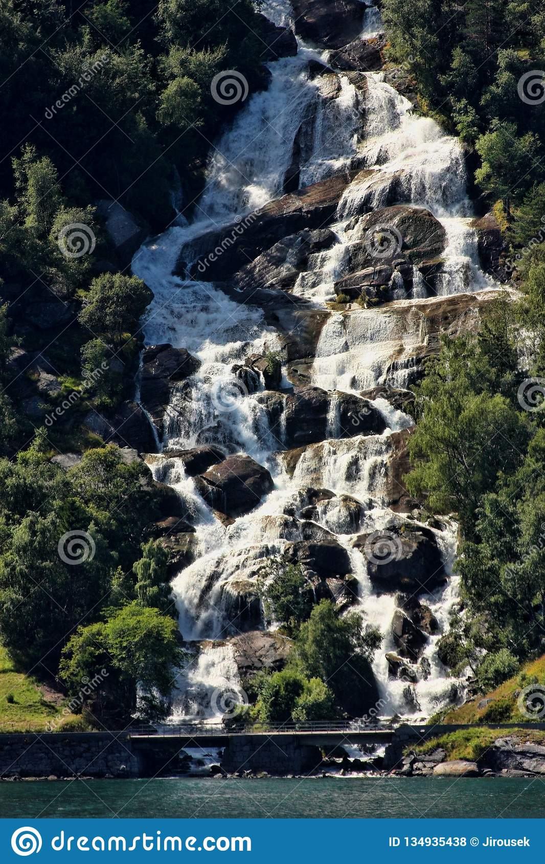 There are hundreds of beautiful waterfalls in Scandinavia