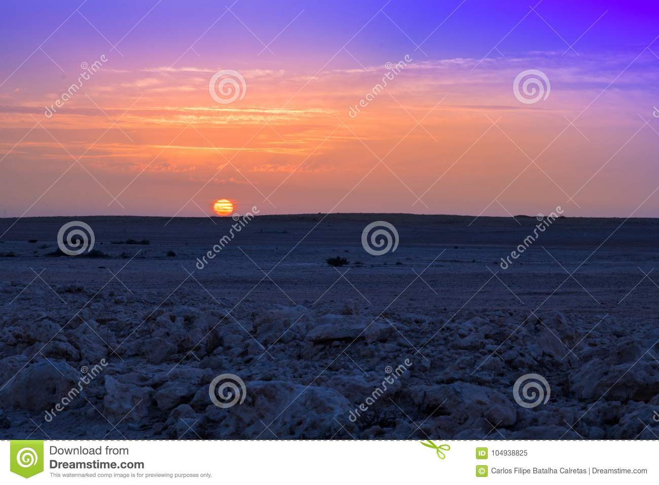 Is there life on Mars? stock image  Image of sunrise - 104938825