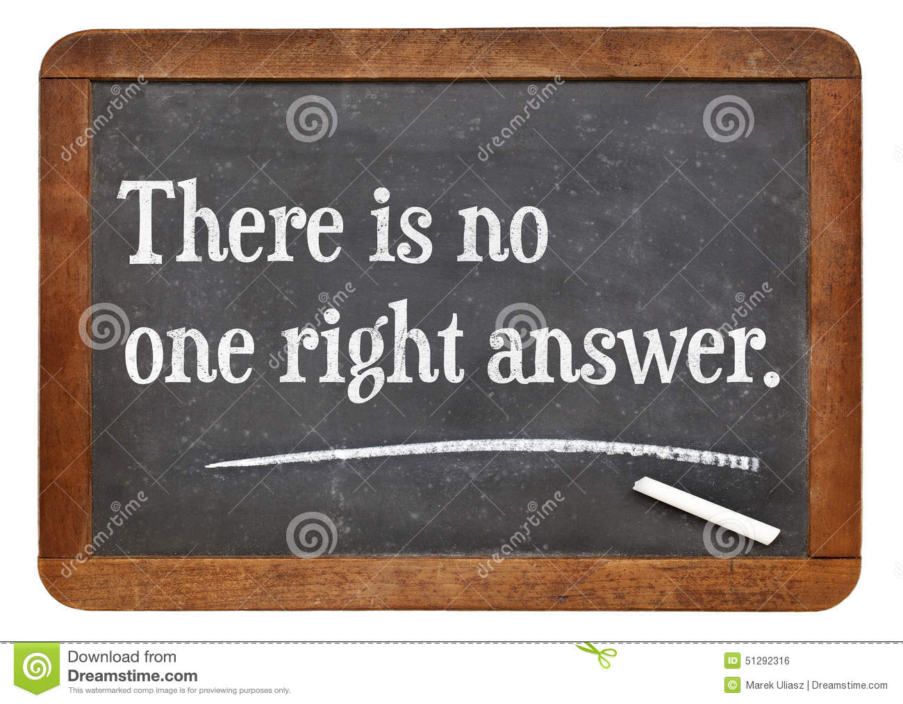 no right answer thesis If a master's degree candidate needs to select a thesis  how to select a master's thesis topic if your advisor won't suggest one  would you like to answer.