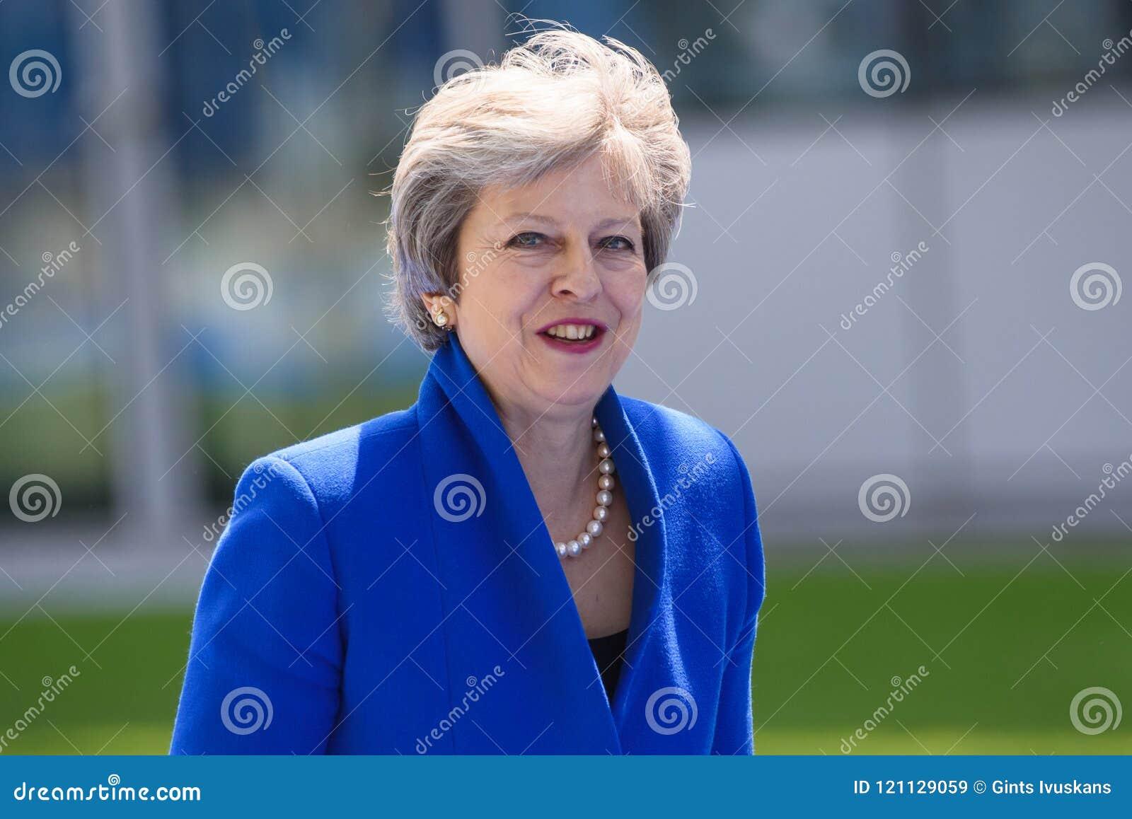Theresa May, primer ministro de Reino Unido