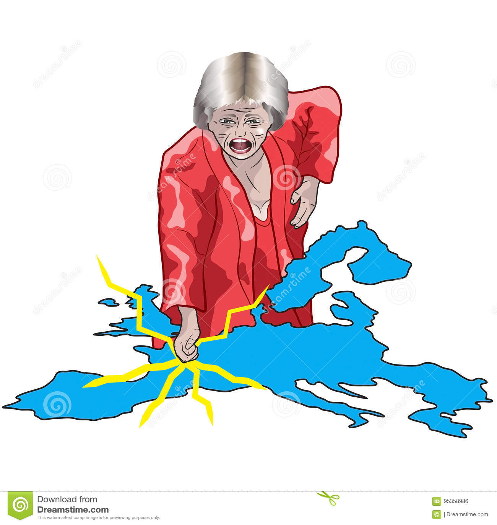 Theresa May quiere un Brexit duro