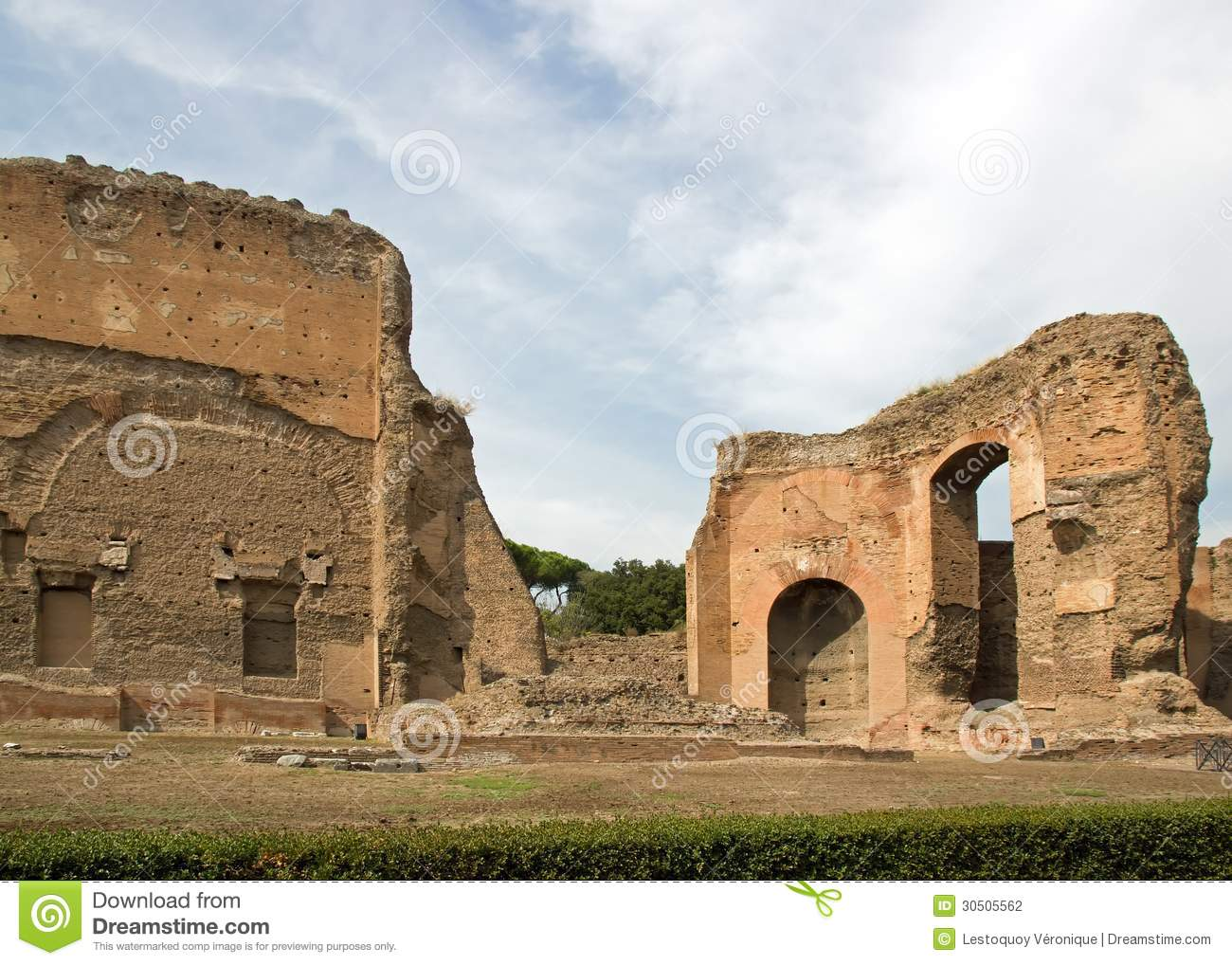 the baths of caracalla The baths of caracalla were located in the city of rome, the capital of the roman empire they were opened in 217 ad by emperor caracalla as one of his public works.
