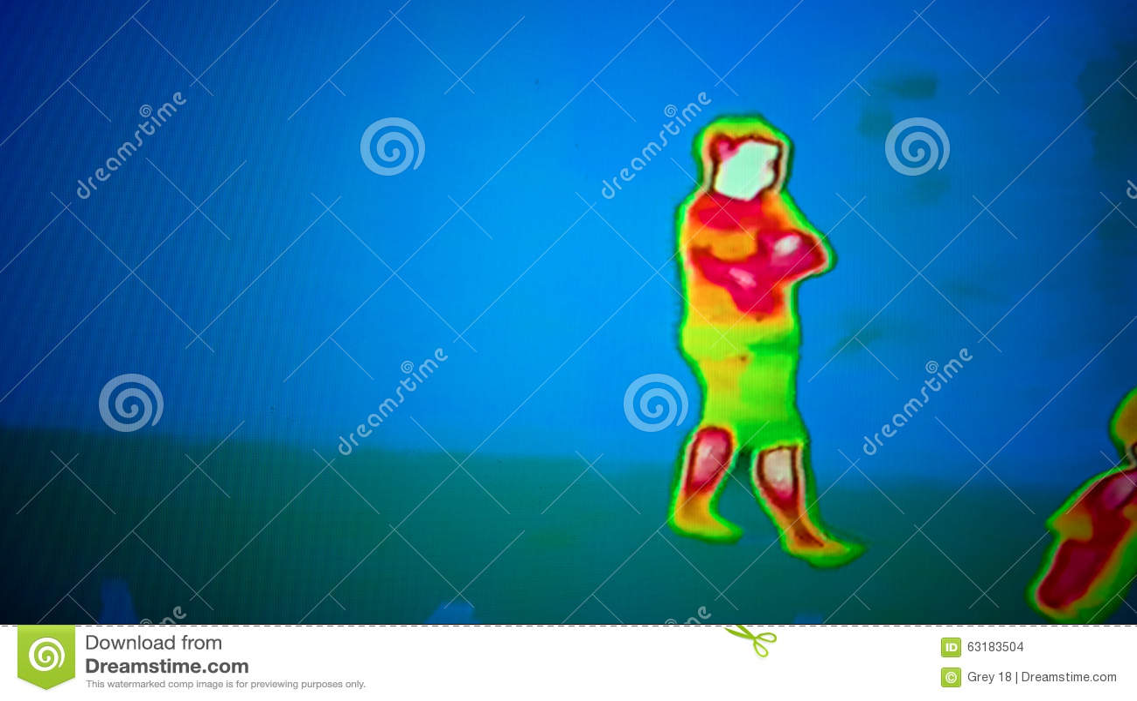 Thermal Image Stock Photo Image 63183504