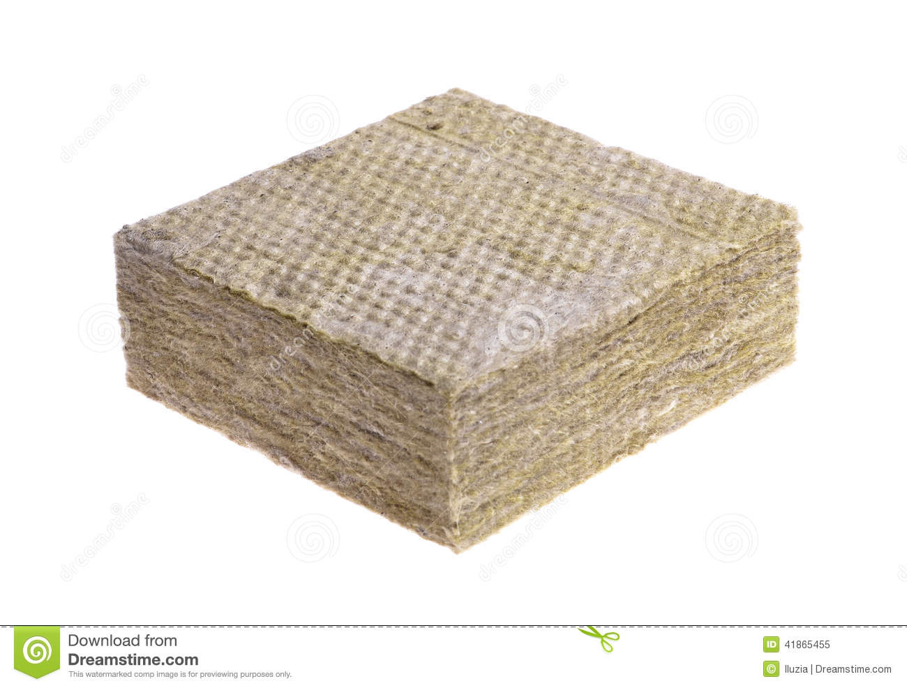 Thermal insulation stock photo image 41865455 for Cost of mineral wool vs fiberglass insulation