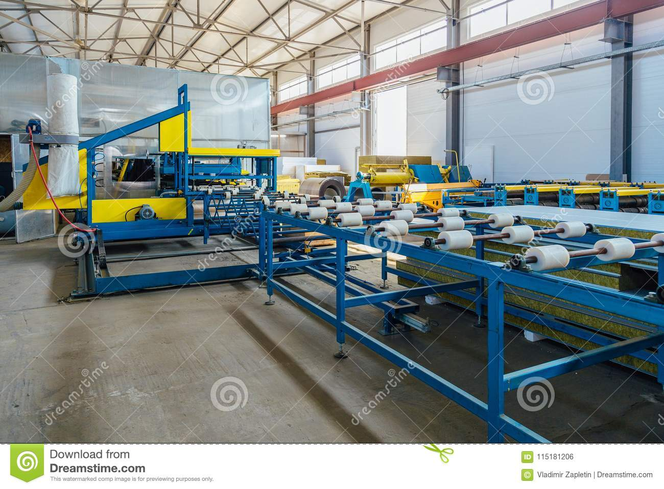 Thermal Insulation Sandwich Panel Production Line  Roller