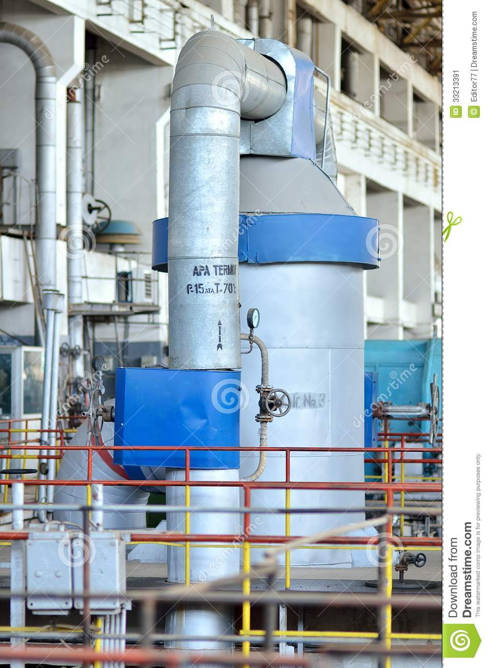 Thermal power plant #14 stock image. Image of inside - 33213391