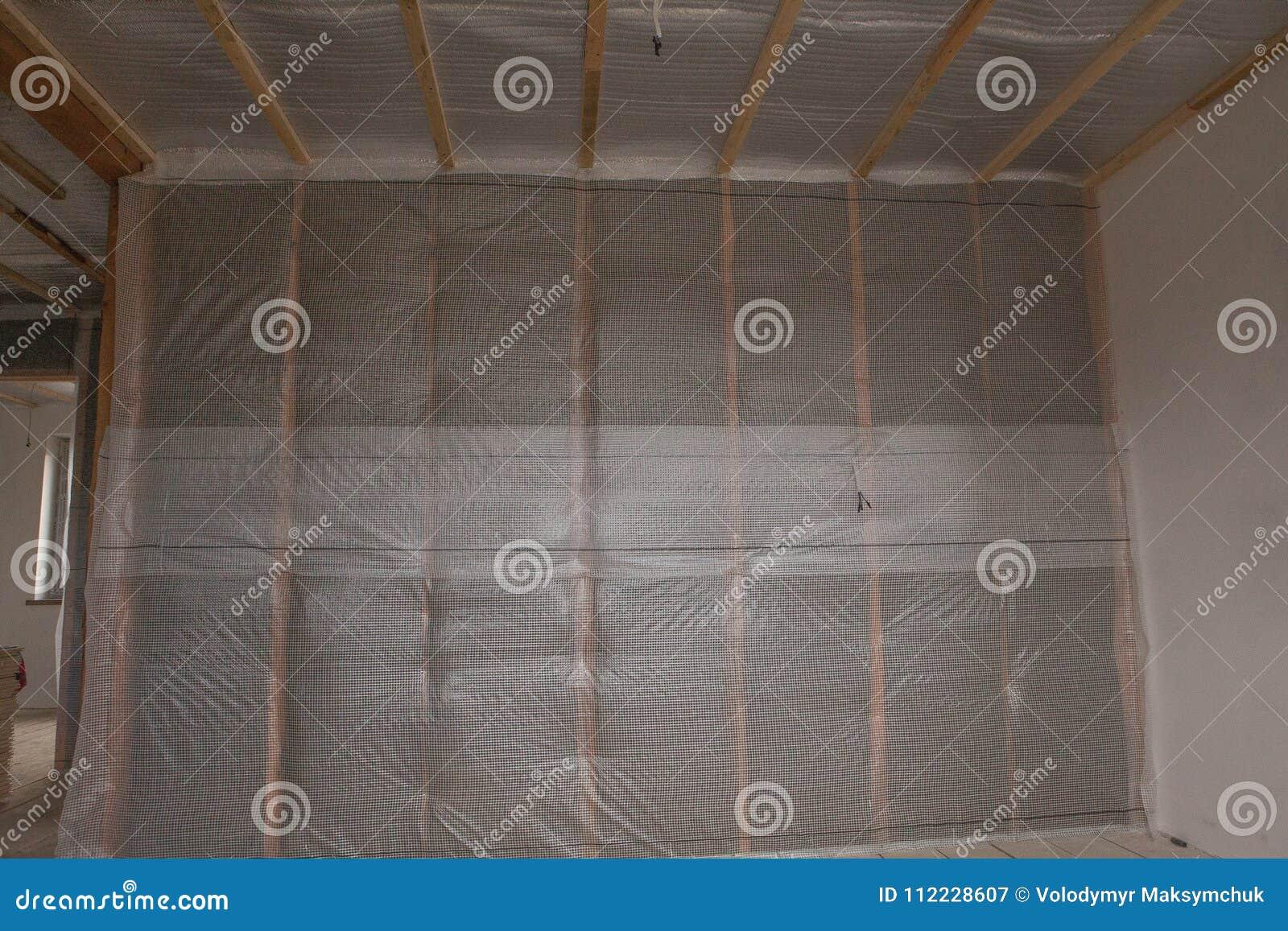 Thermal- und hidroisolierung ummauern neues Wohnheim des Isolierungsbaus