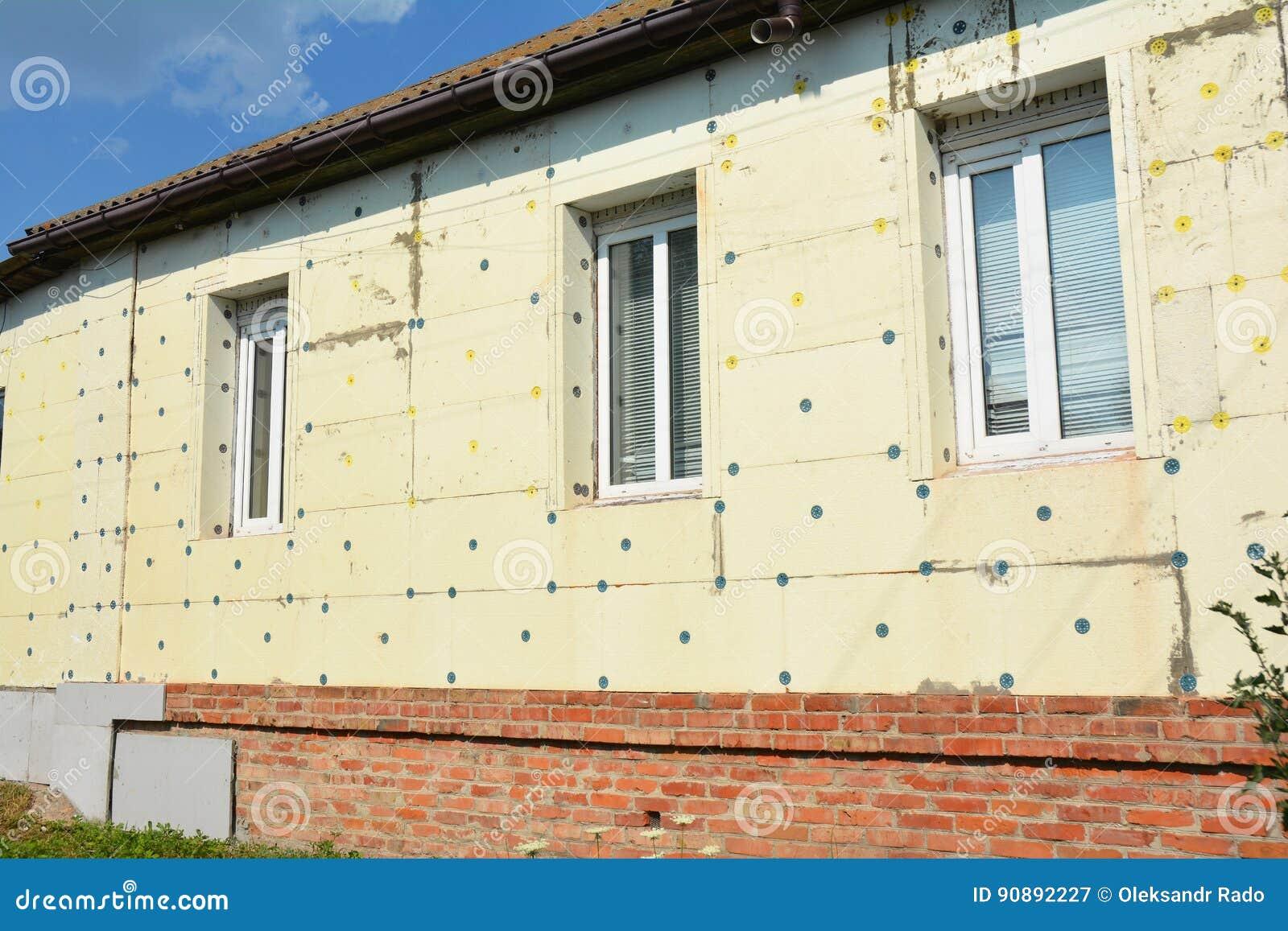 Thermisches Haus-Isolierungs-Äußeres Fassaden-Wand-Isolierung Mit ...