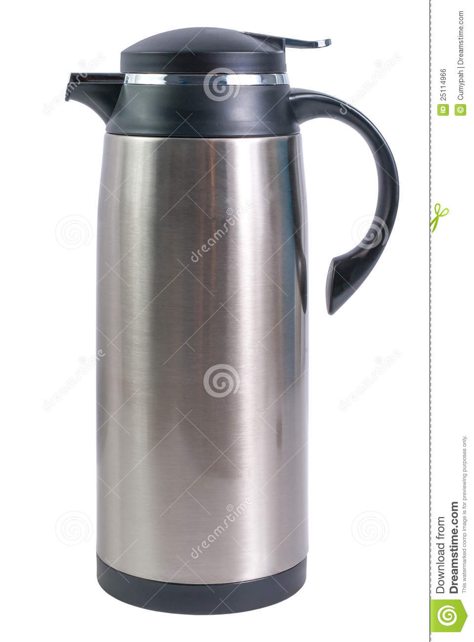Thermo Flask For Hot Drinks Royalty Free Stock Image - Image: 25114966