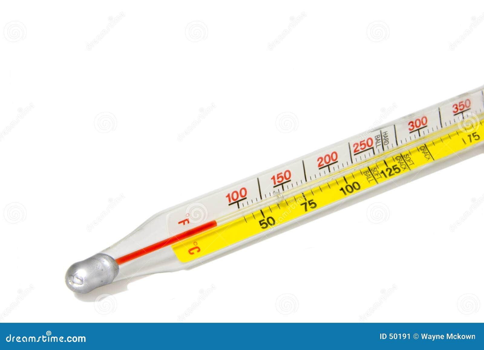 Download Thermomètre image stock. Image du flamme, fait, brûlure - 50191