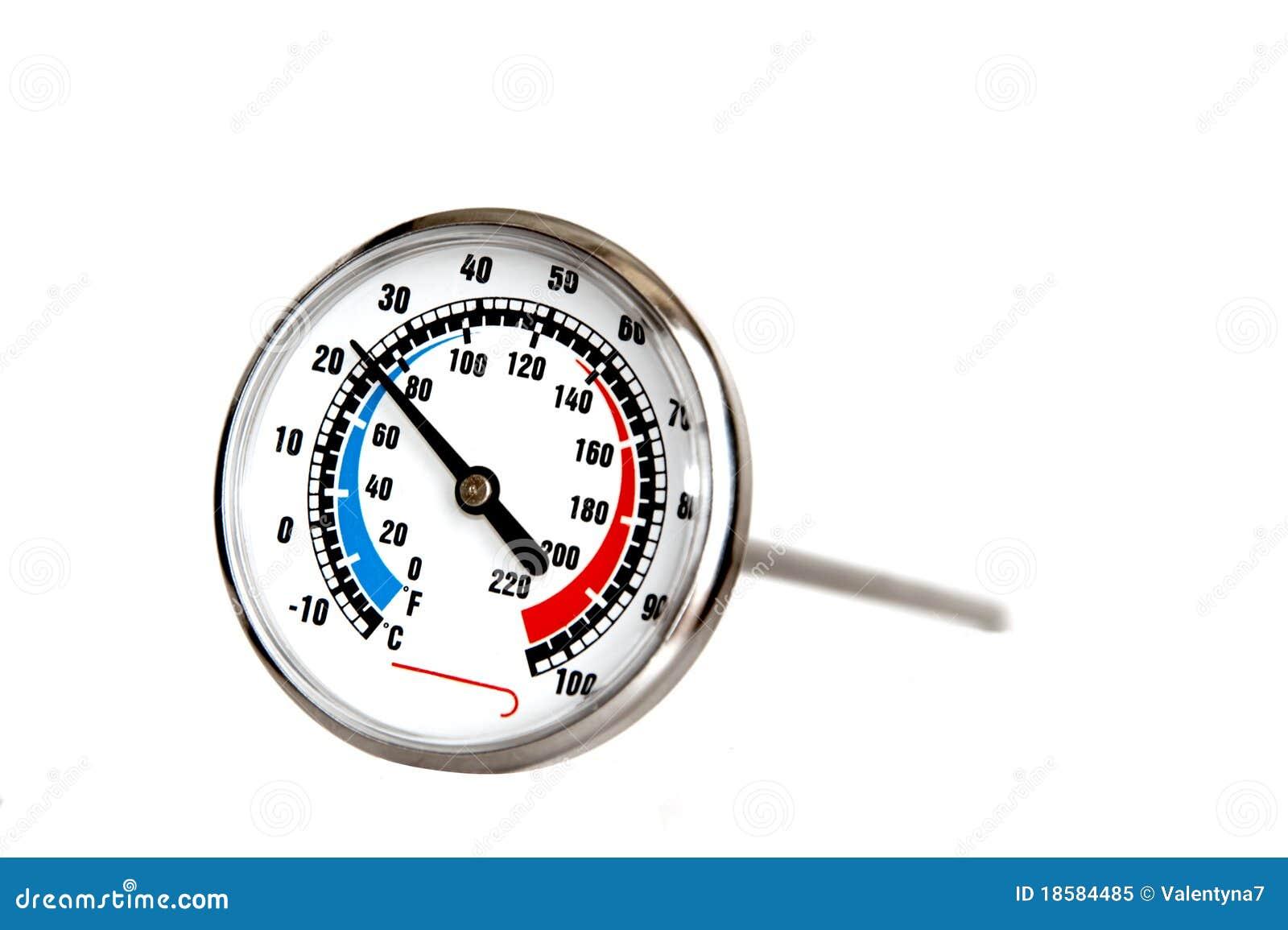 Thermom tre culinaire image stock image du pr cis degr for Prix thermometre de cuisine