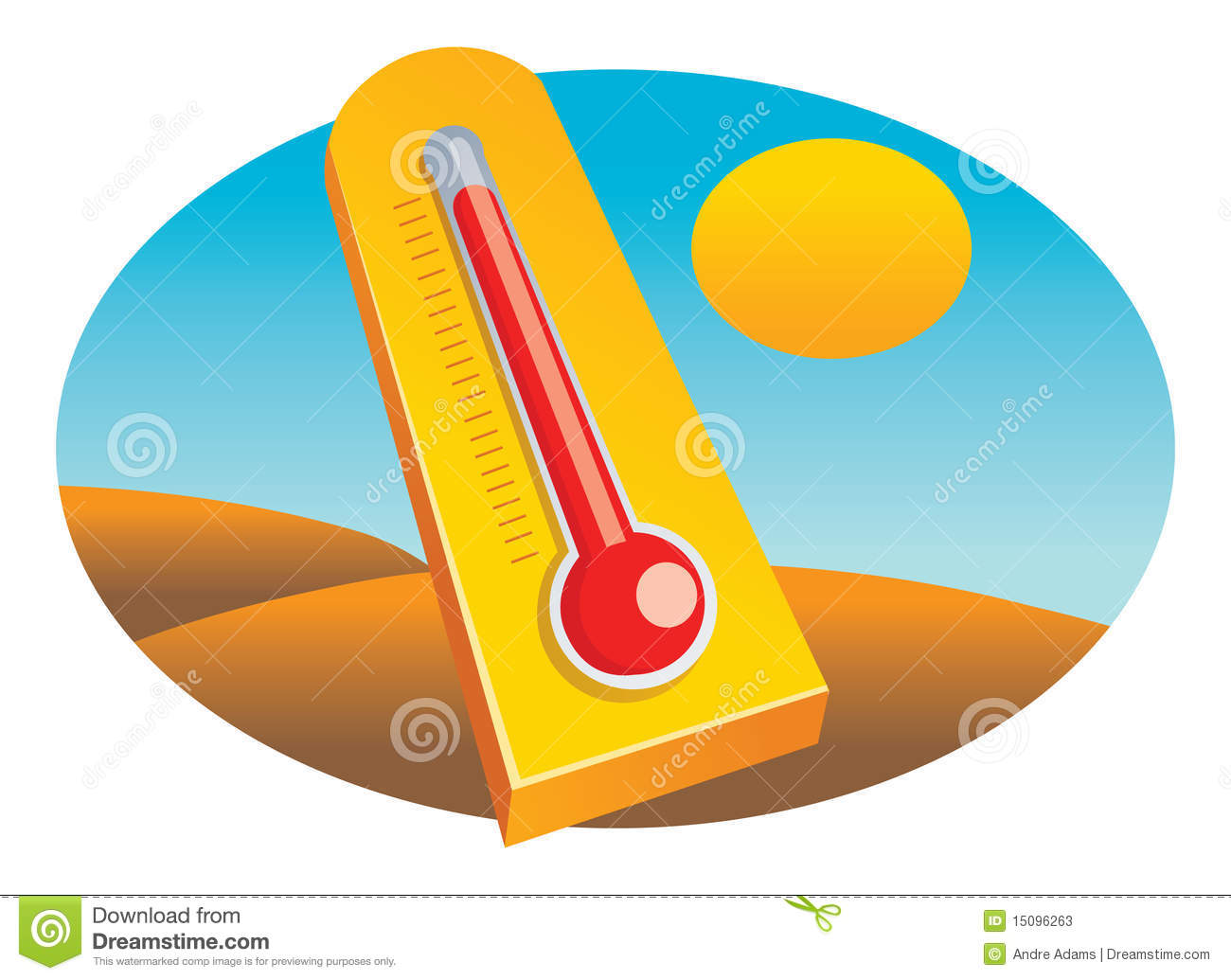 Cartoon Hot Thermometer cartoon hot thermometer stock photos, images ...