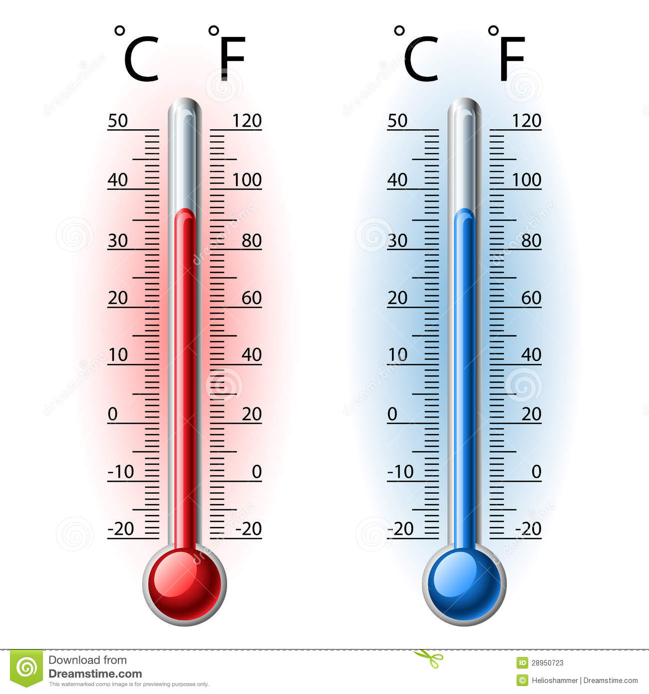 Thermometer set stock vector. Illustration of rising   20