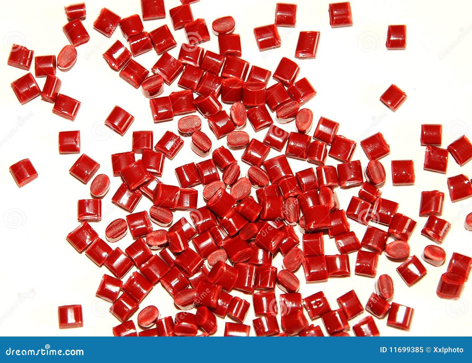 Thermoplastic röd kåda