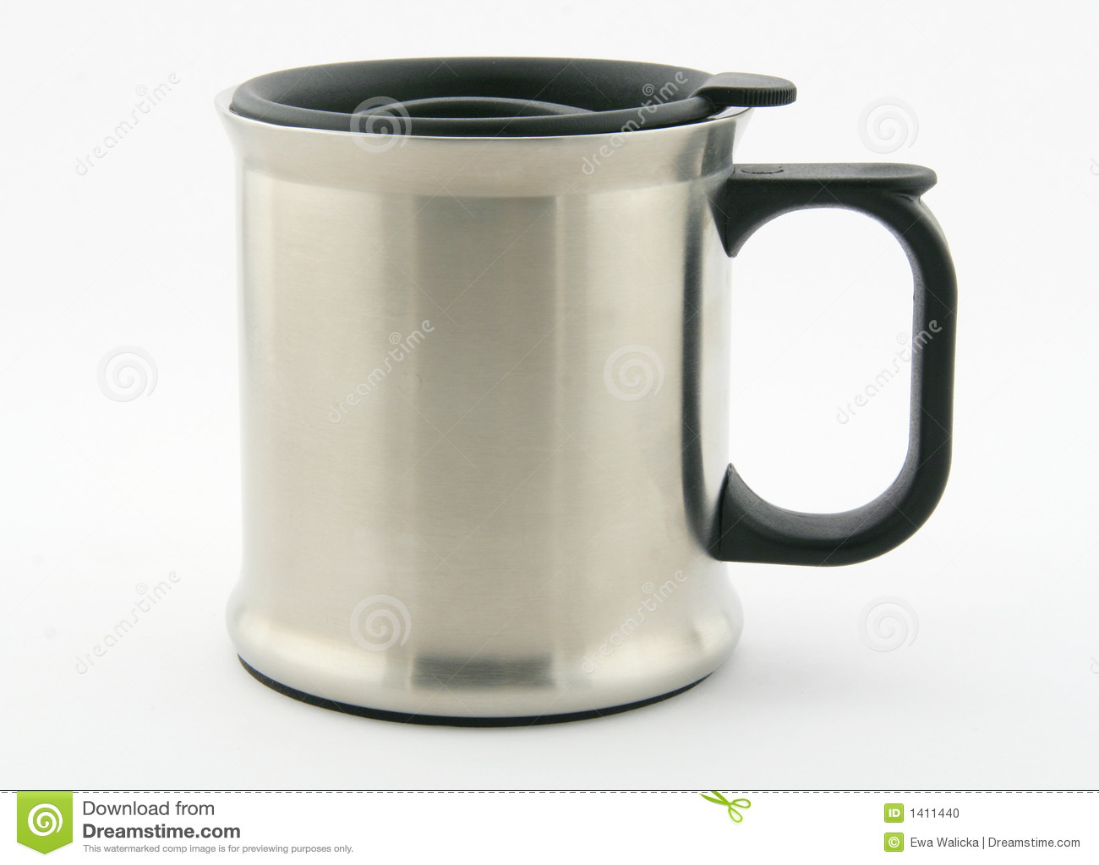 Thermos Mug Stock Photo Image Of Outdoor Metal