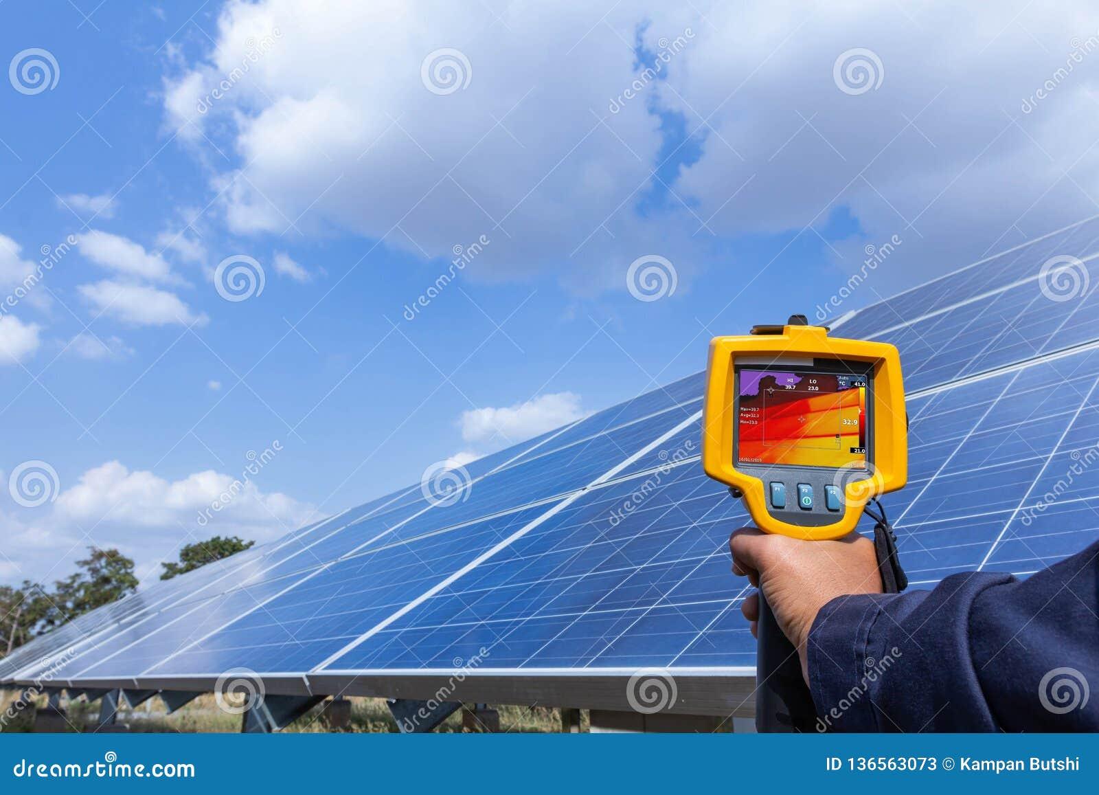 Thermoscanthermal wizerunku kamera, Przemysłowy wyposażenie używać dla sprawdzać wewnętrzną temperaturę maszyna dla prewencyjnego