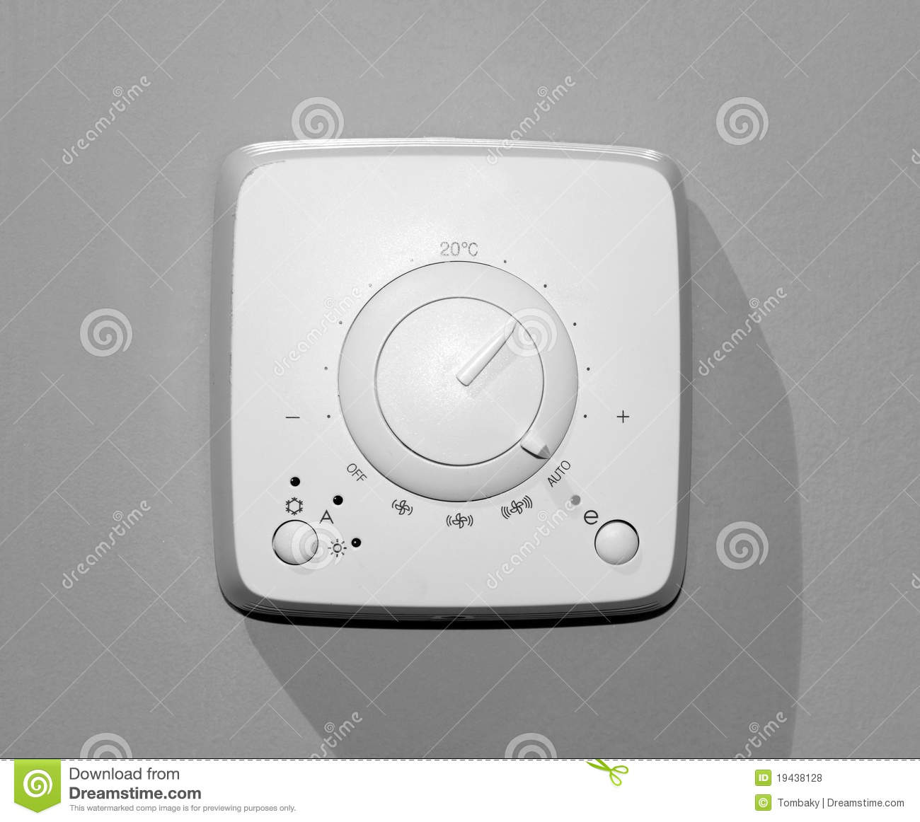 #86A823 Thermostat Royalty Free Stock Photos Image: 19438128 Highly Rated 10559 Air Conditioner That Hangs On The Wall wallpapers with 1300x1162 px on helpvideos.info - Air Conditioners, Air Coolers and more