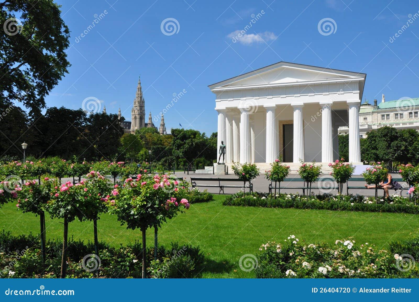 Theseus Tempel volksgarten innen Wien, Österreich
