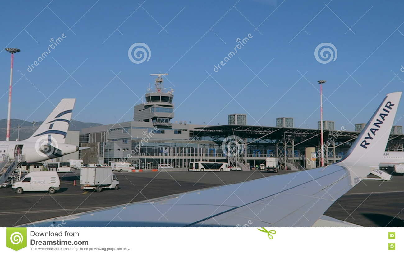 Where are we flying SKG Airport