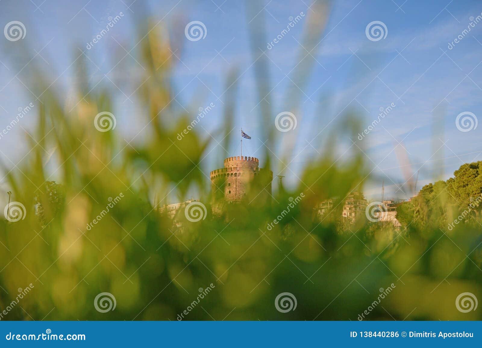 Thessaloniki het Witte Kapitaal van Torenmacedonië