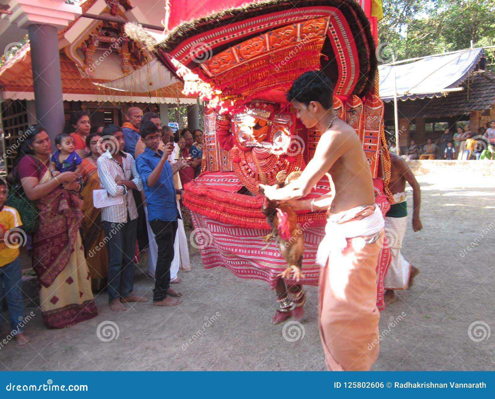 Theyyam в висках