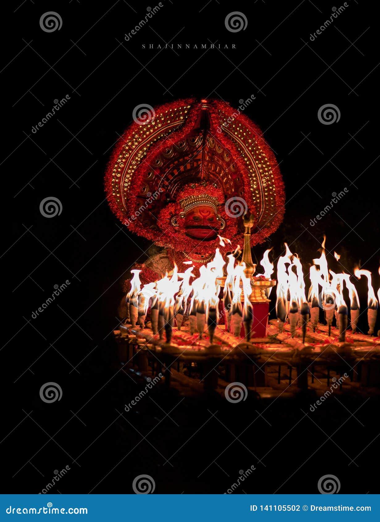 Theyyam do veeran de Kathivanoor