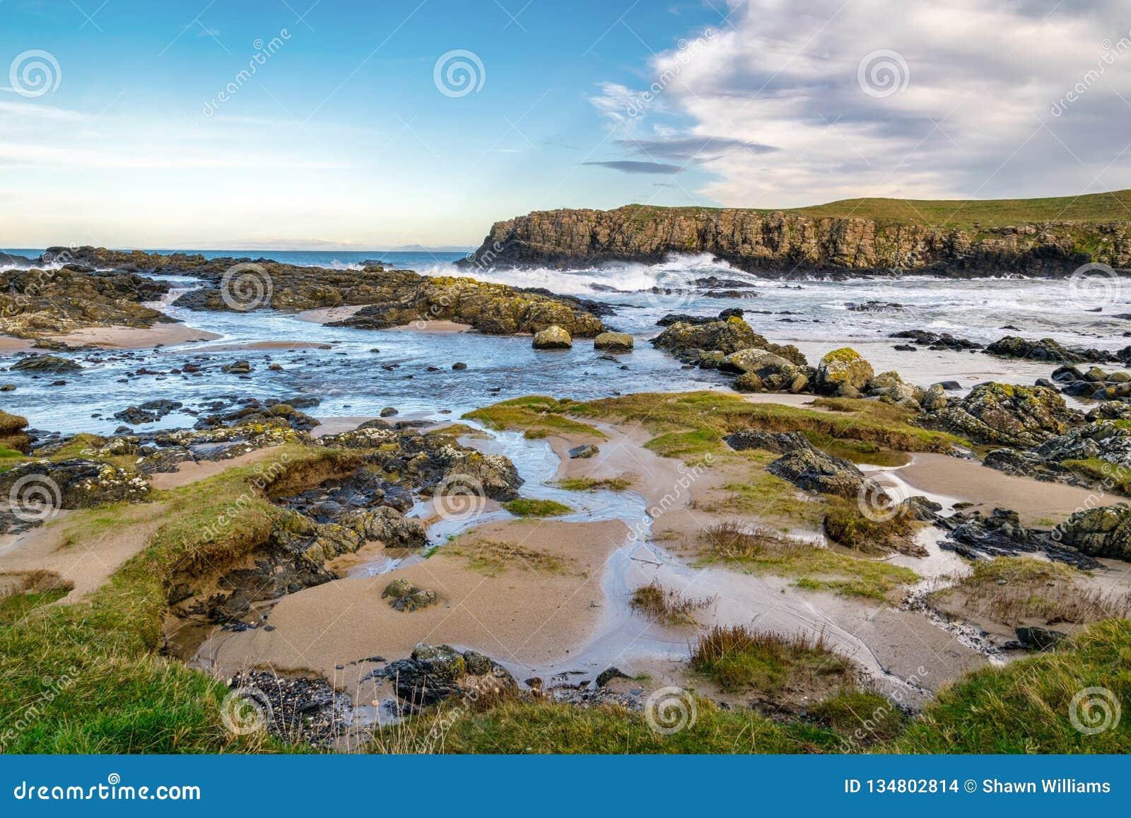 Antrim Coast shore