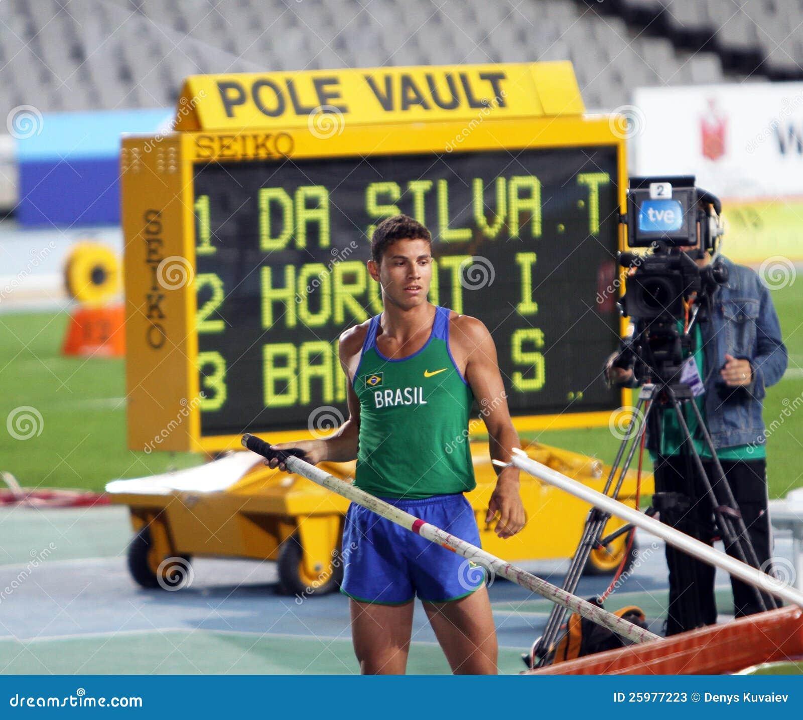 Thiago Braz DA Silva van Brazilië de winnaar