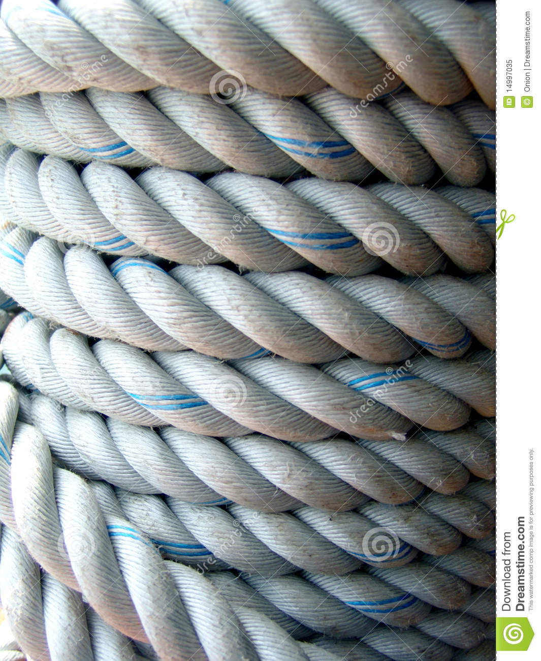 Thick Rope Royalty Free Stock Photo Image 14997035