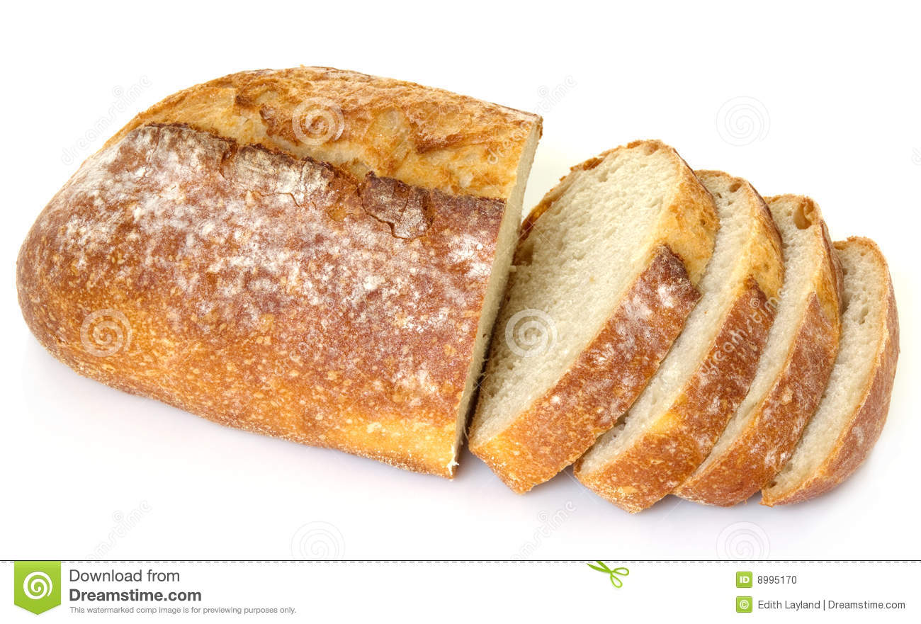 Thick Slices Of French Bread