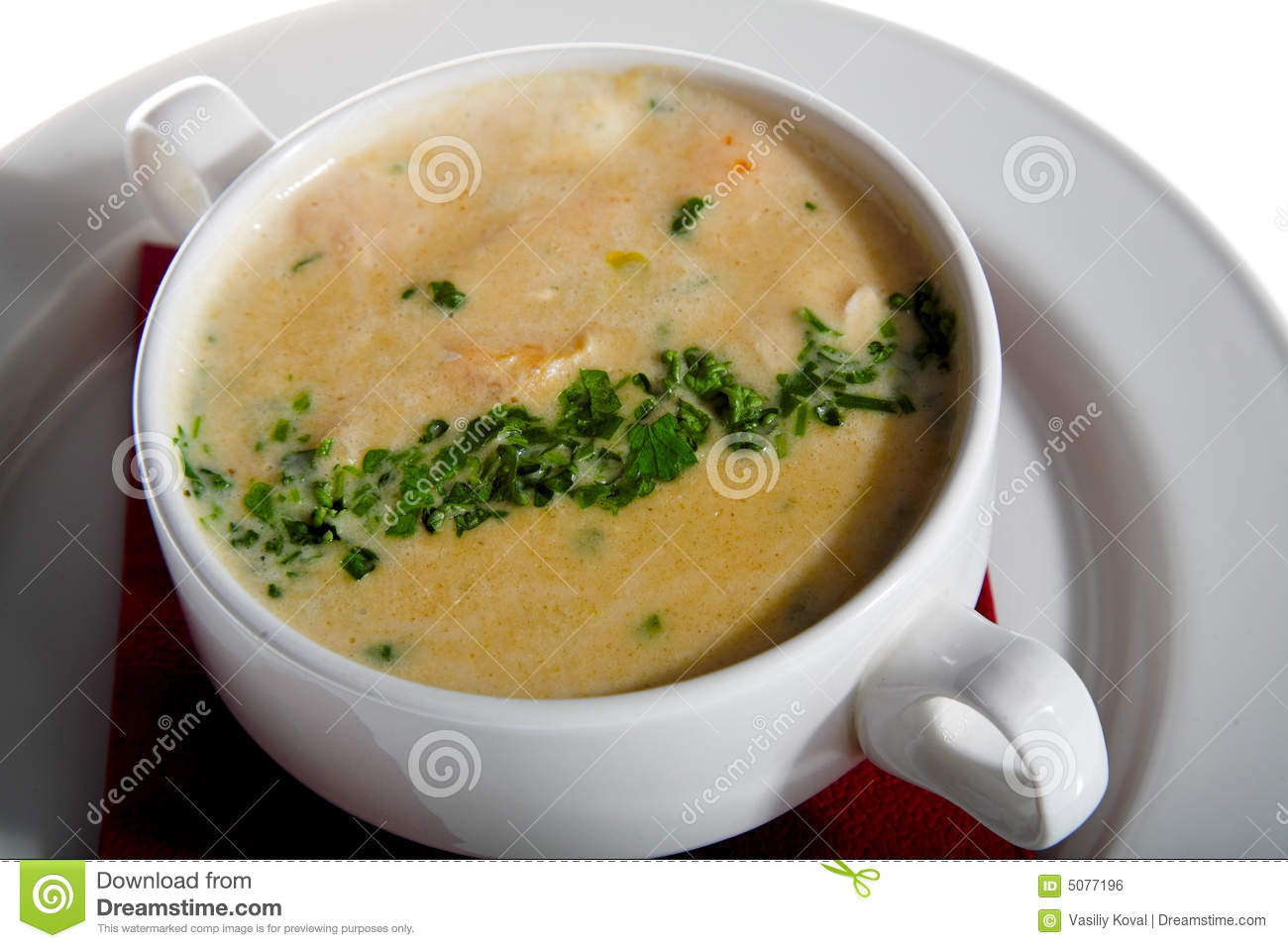 Thick Soup Royalty Free Stock Image - Image: 5077196