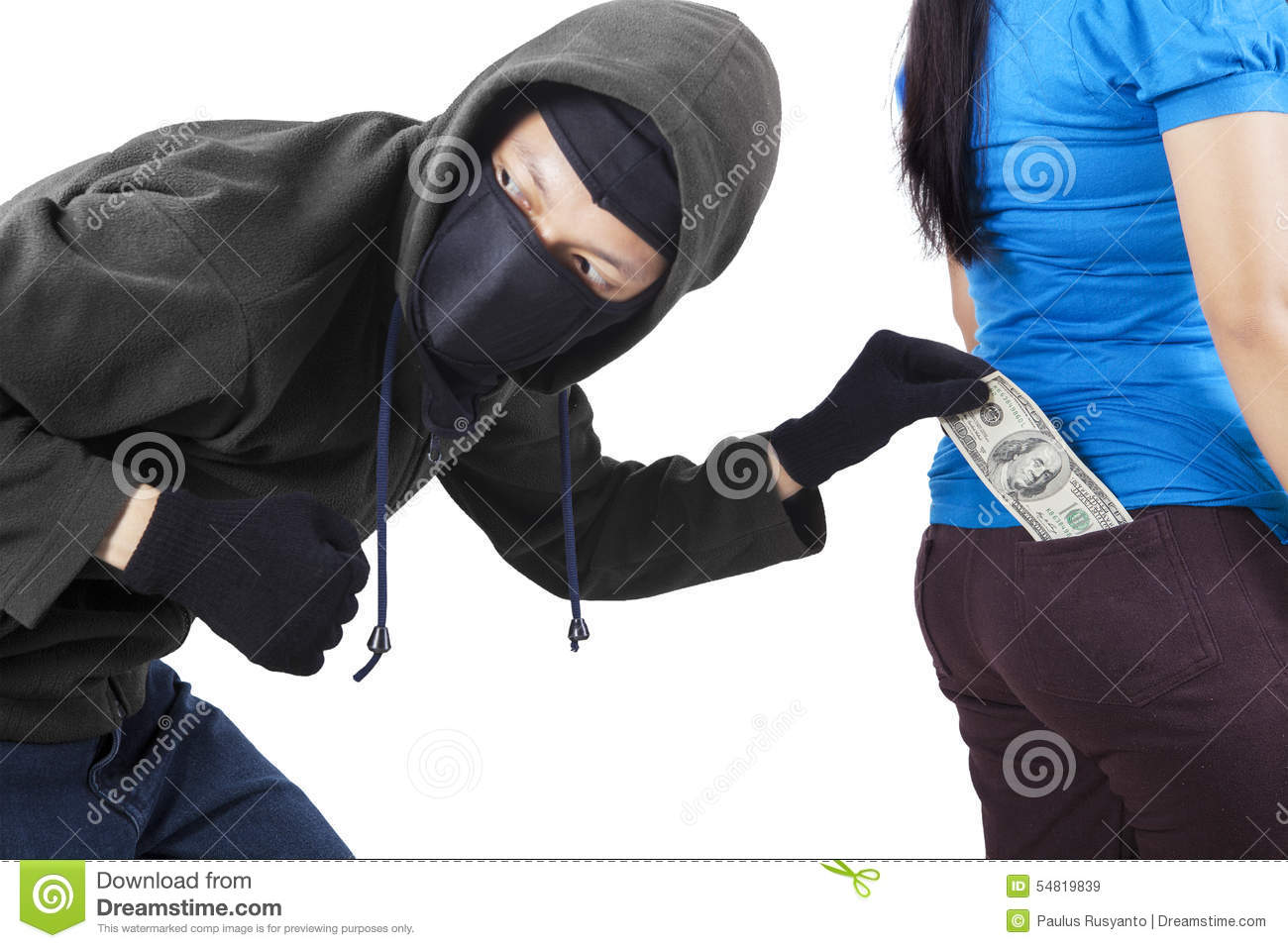 più foto bc7bd 70330 Thief In Action To Stole Money Stock Image - Image of ...