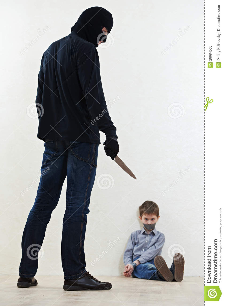 thief kidnapper with child stock photo image 28684500 barbed wire clip art dividers barbed wire clip art transparent