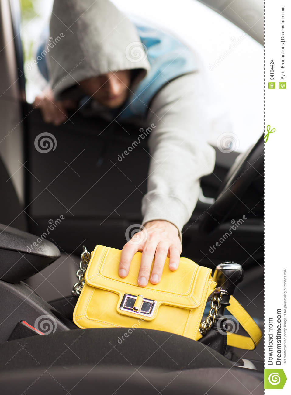 Car Insurance Prices >> Thief Stealing Bag From The Car Stock Images - Image: 34104424