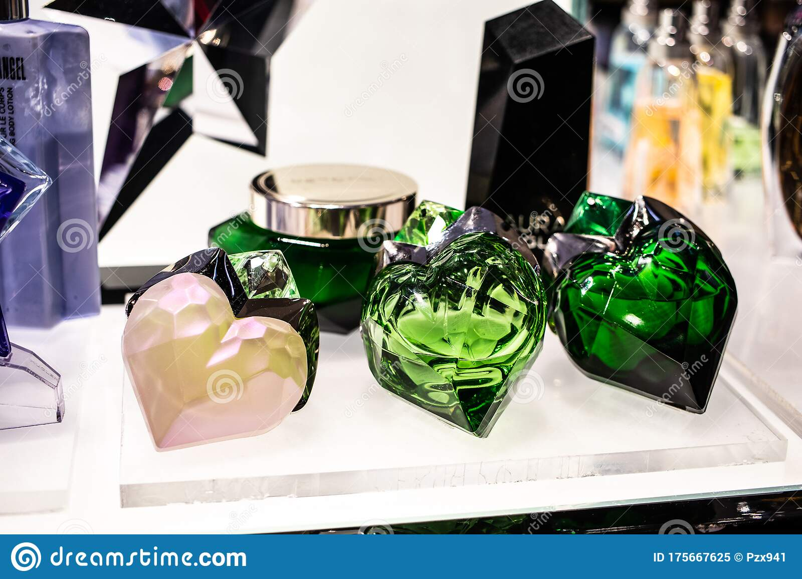 Thierry Mugler Perfume On The Shop Display For Sale Fragrance Created By Thierry Mugler French Fashion Designer Editorial Image Image Of Fashion Fragrance 175667625
