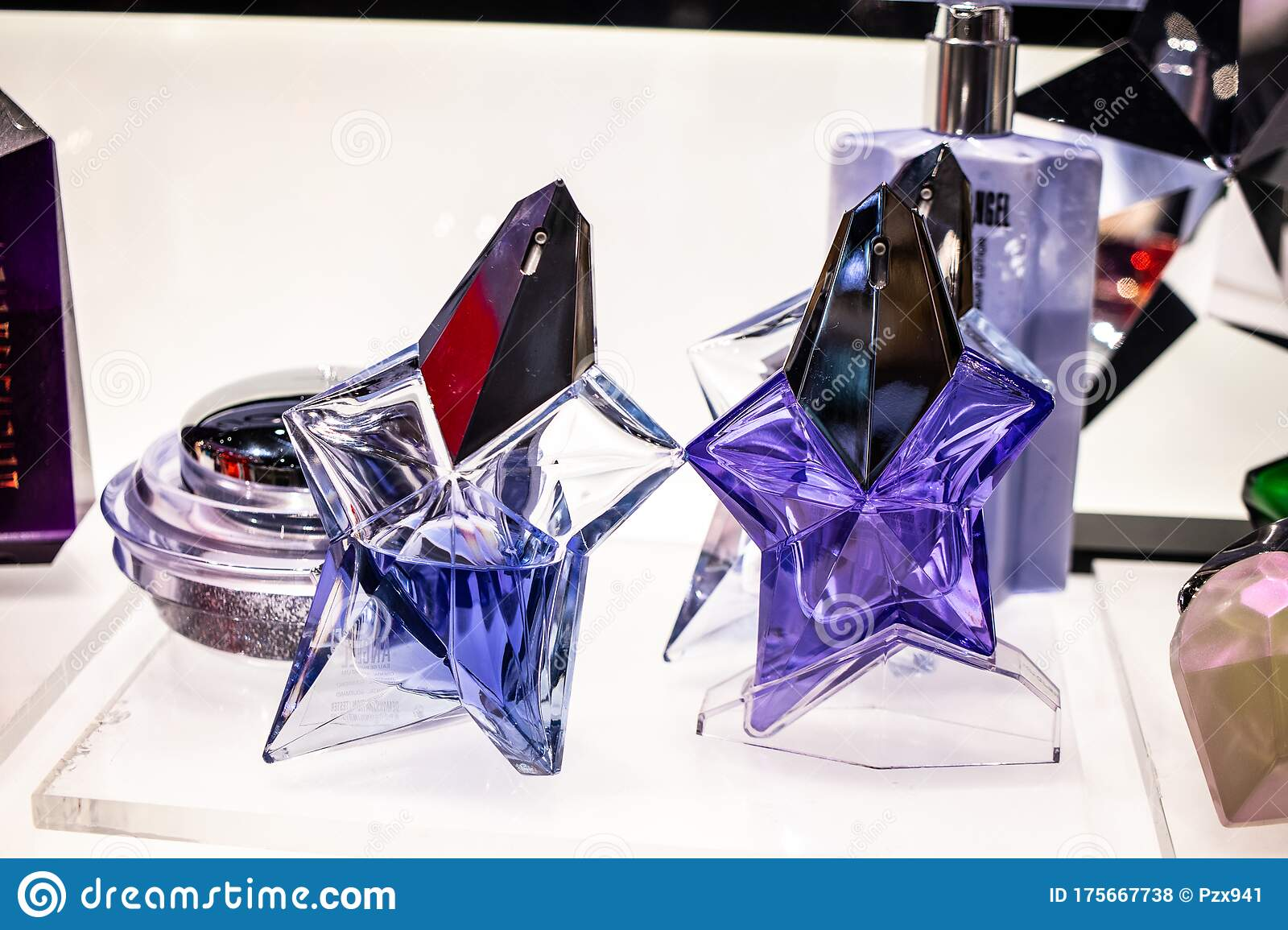 Thierry Mugler Perfume On The Shop Display For Sale Fragrance Created By Thierry Mugler French Fashion Designer Editorial Stock Photo Image Of Display Aroma 175667738