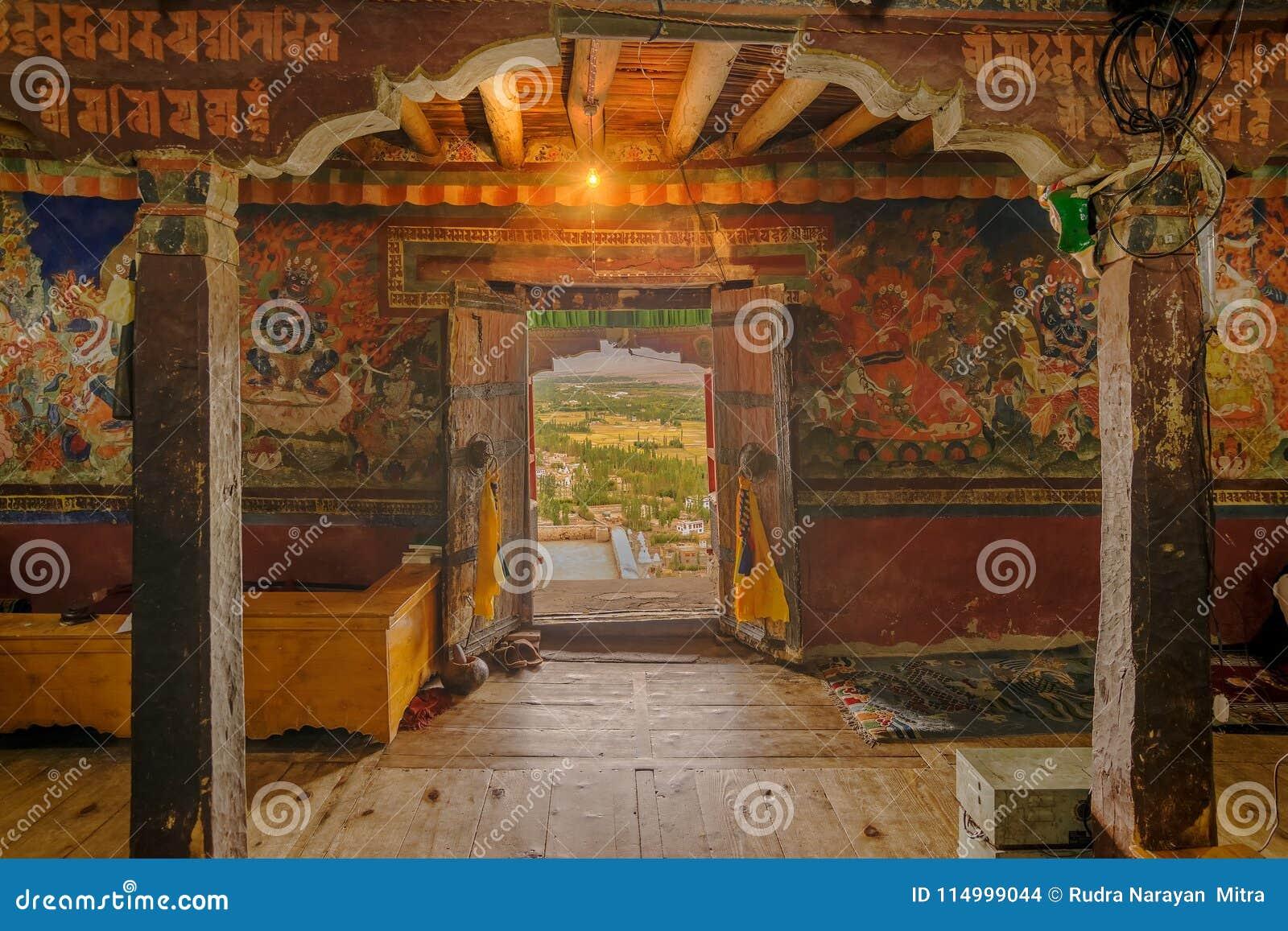 Thiksey修道院,拉达克