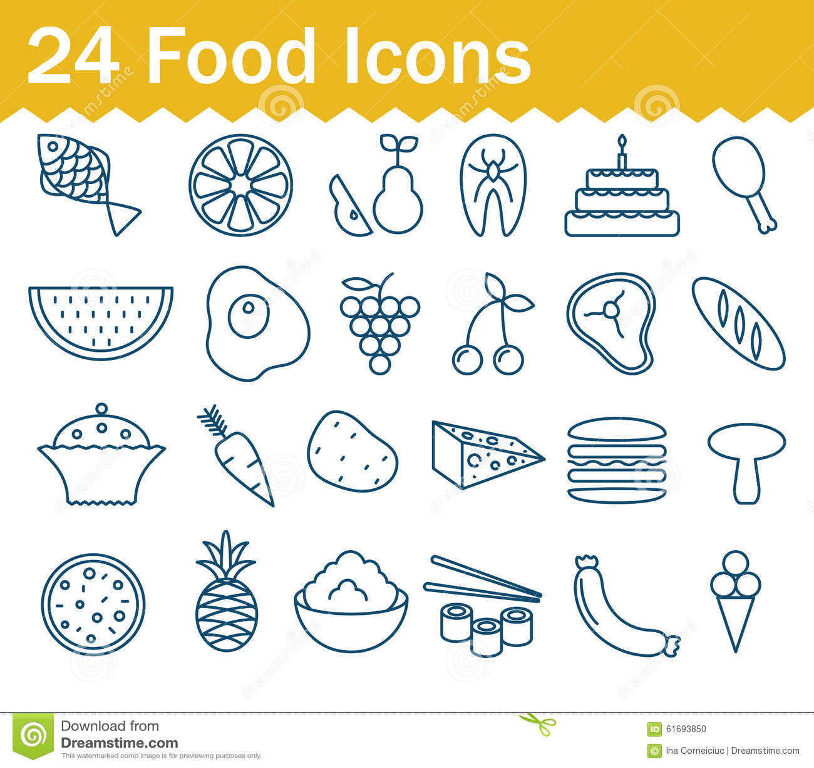 Outline of food preparation