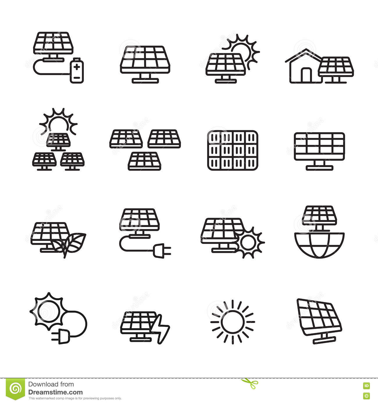 vector power sliders modern icons cartoon vector