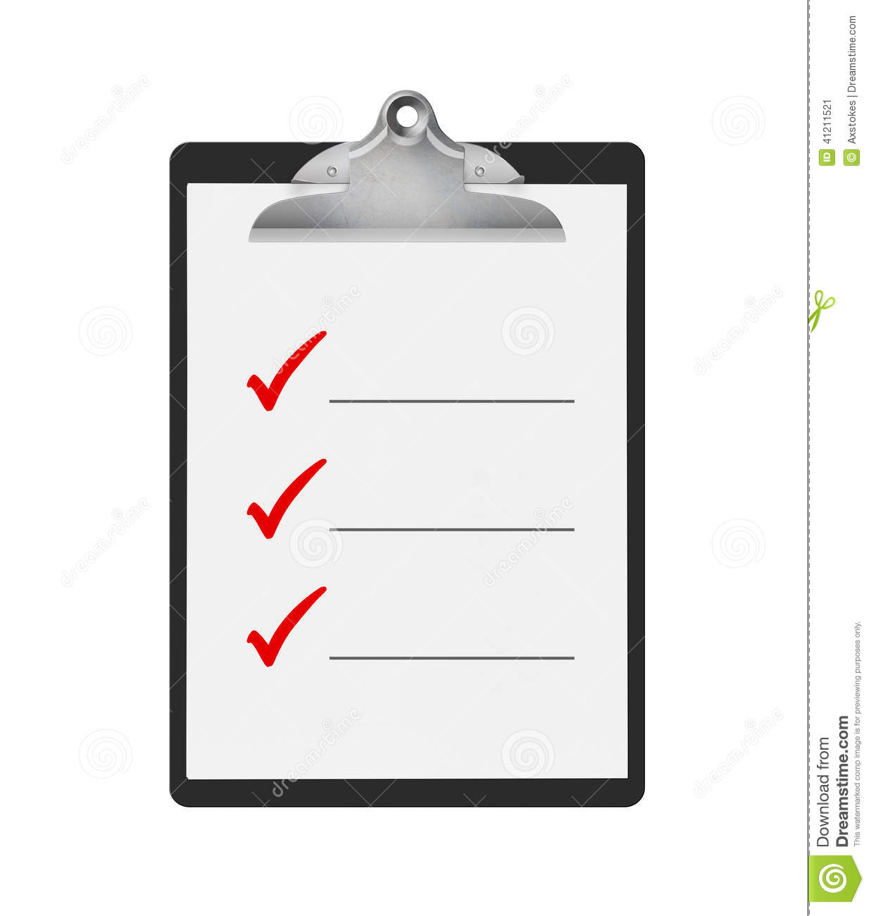 things to do checklist stock illustration  image 41211521