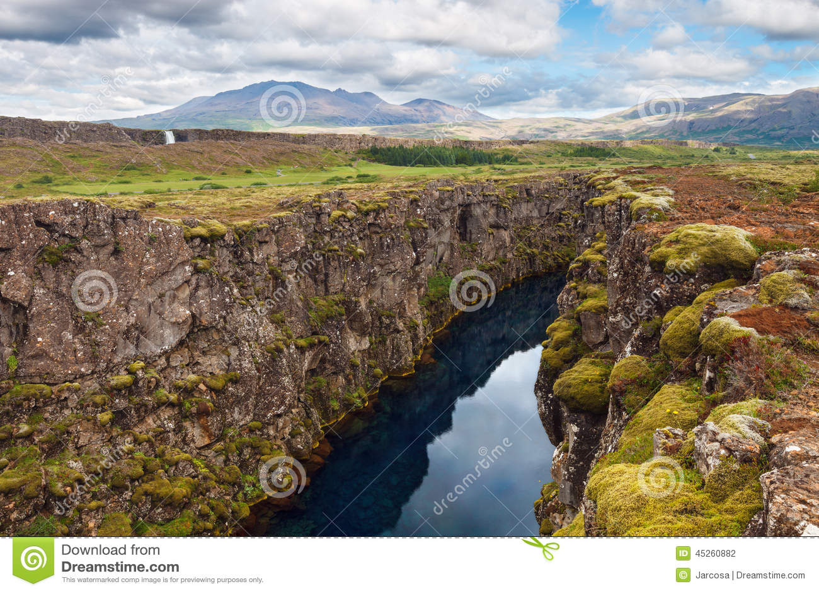 on thingvellir national park map