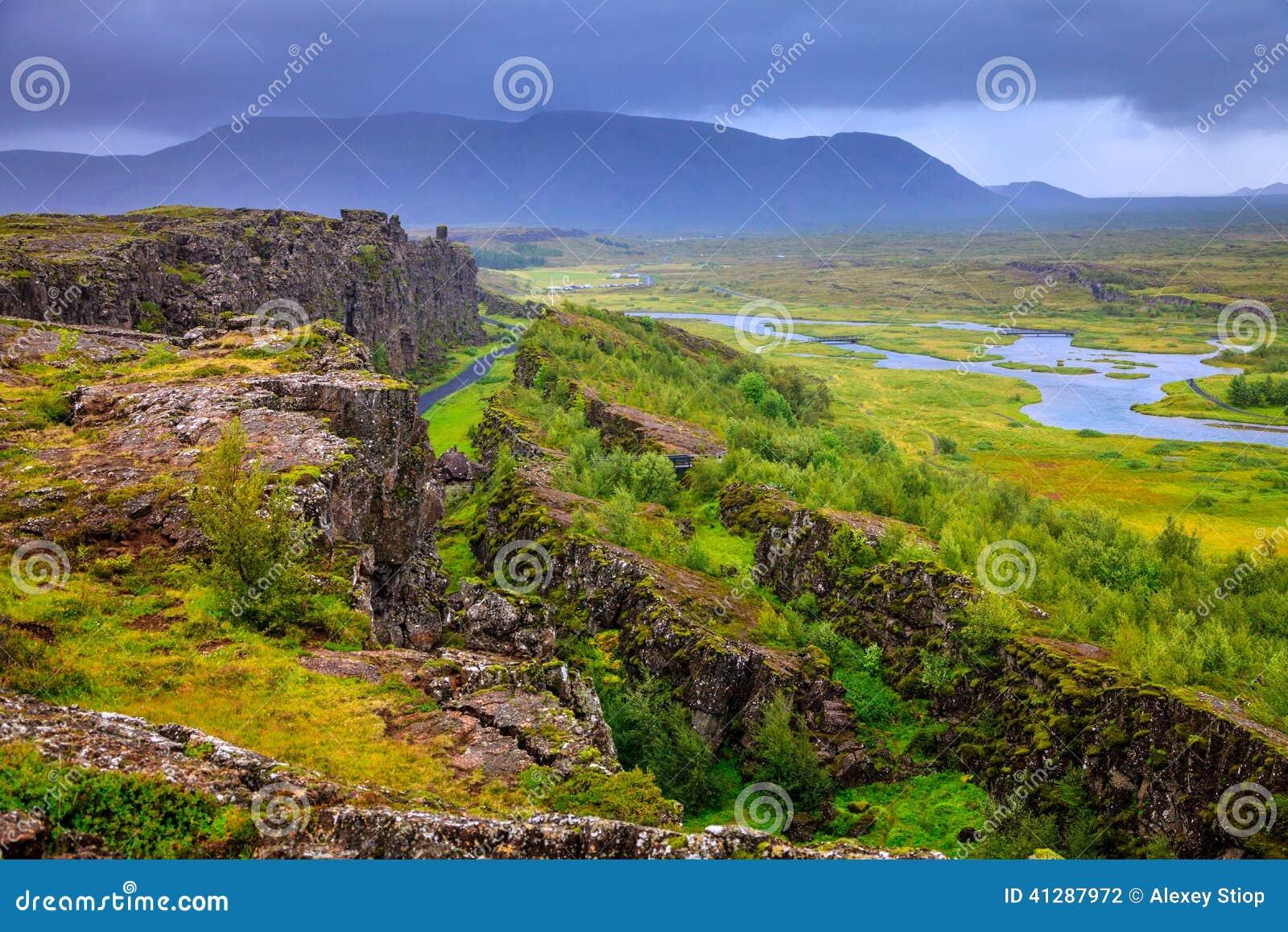 Thingvellir National Park rift valley
