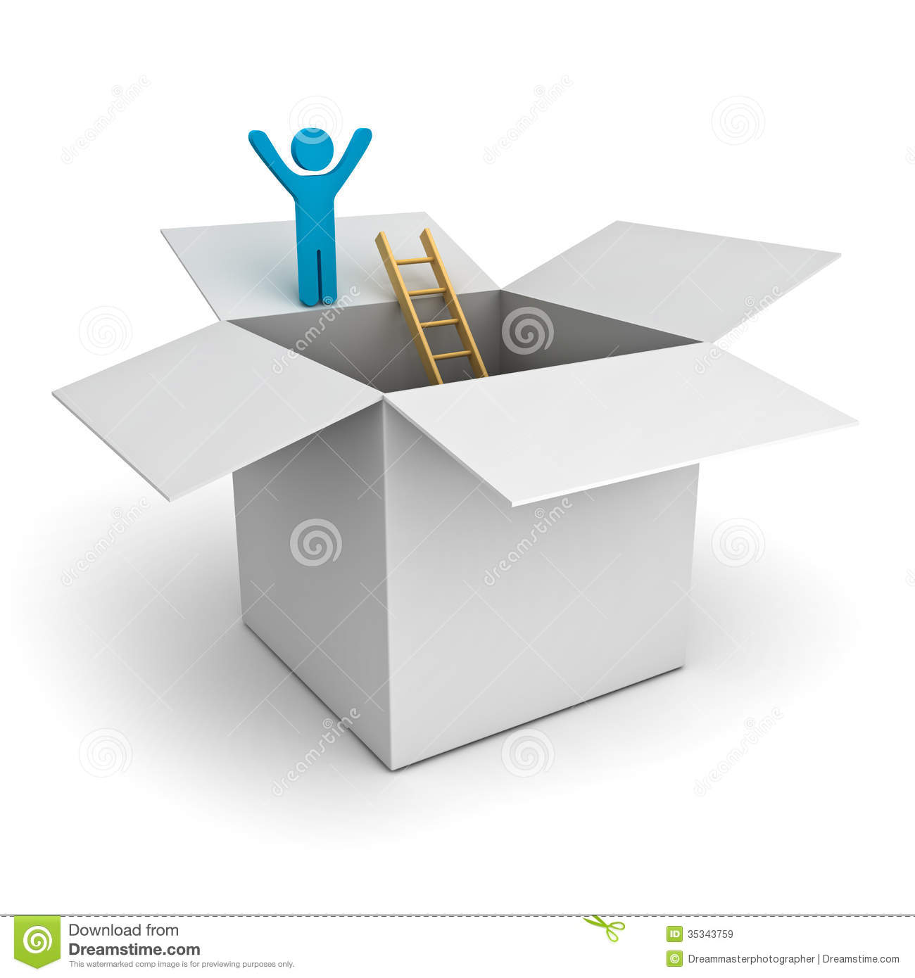 the box man The author compares the chosen lifestyle of the box man, to the undesired for loneliness of the victims the author explains that although one may be poor and alone, it does not mean that one is unhappy.