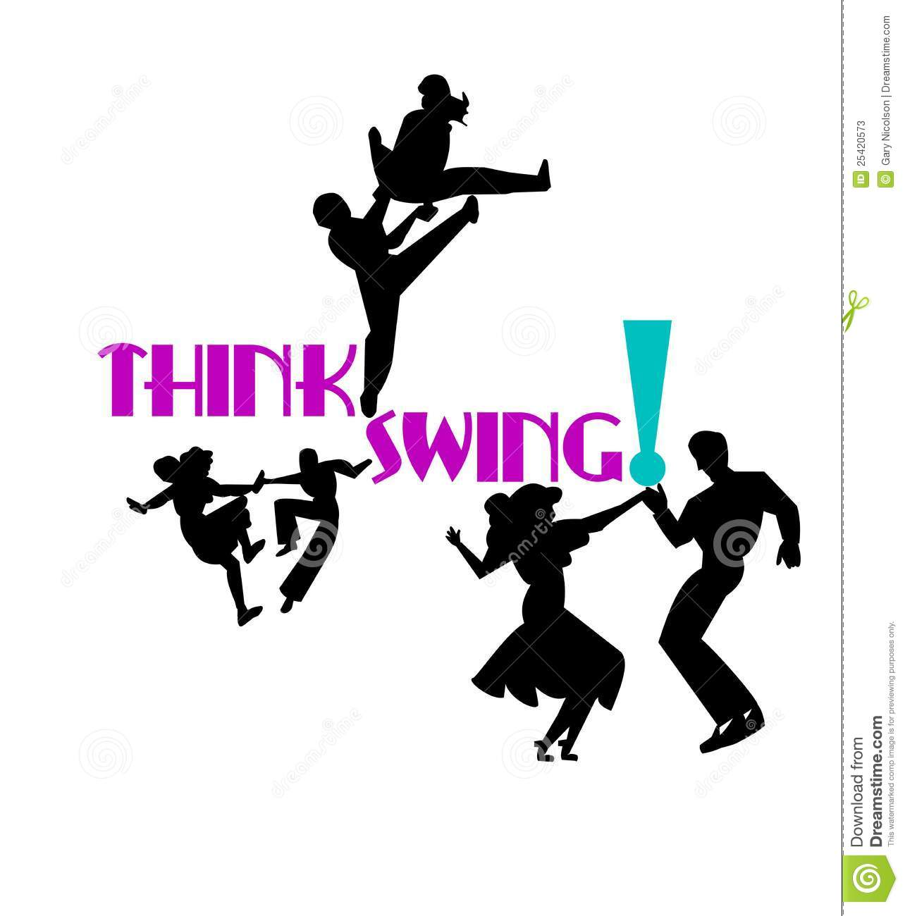 Displaying (18) Gallery Images For Swing Dance Silhouette...