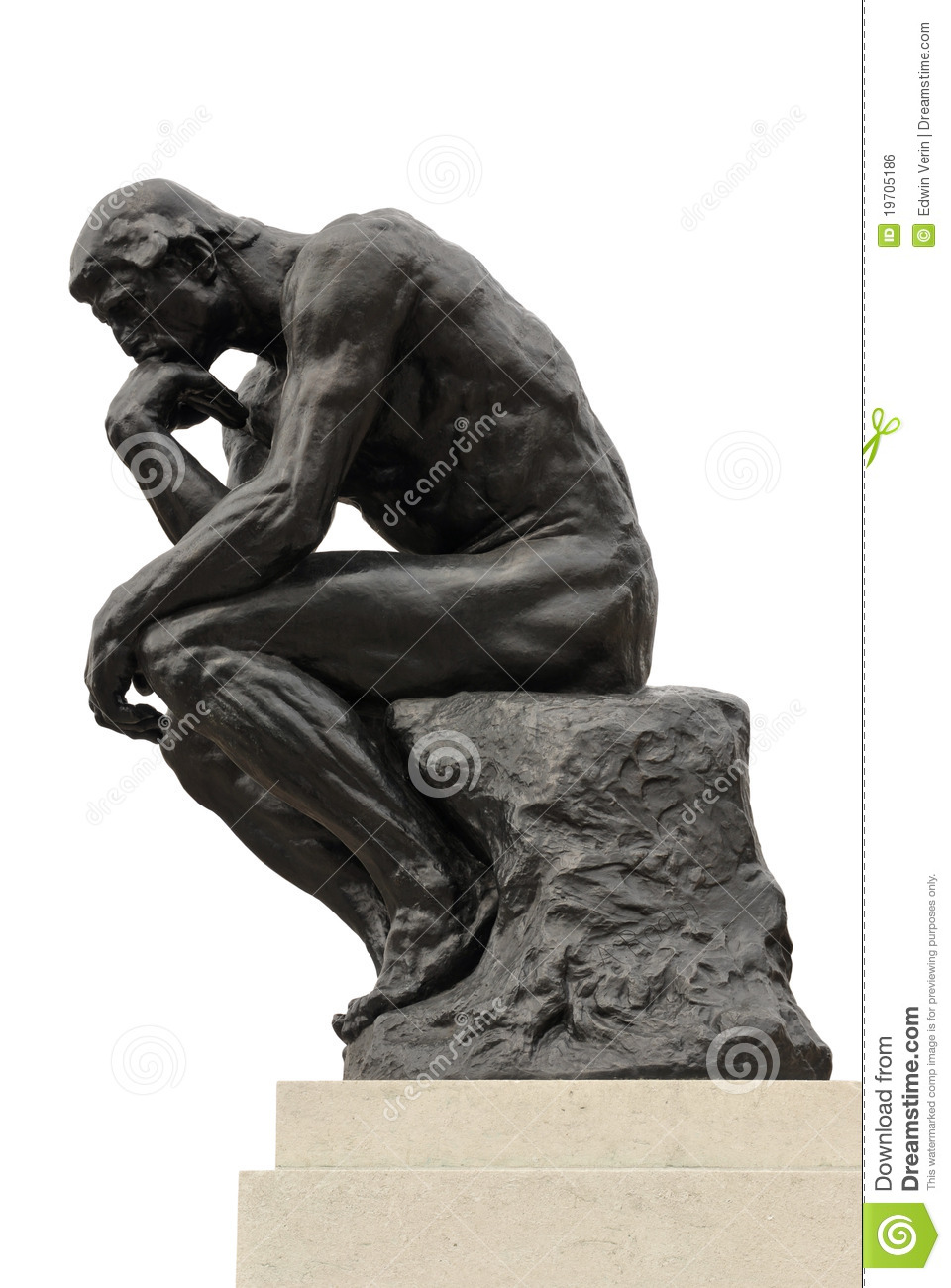 The Thinker editorial photo. Image of impression, think ...