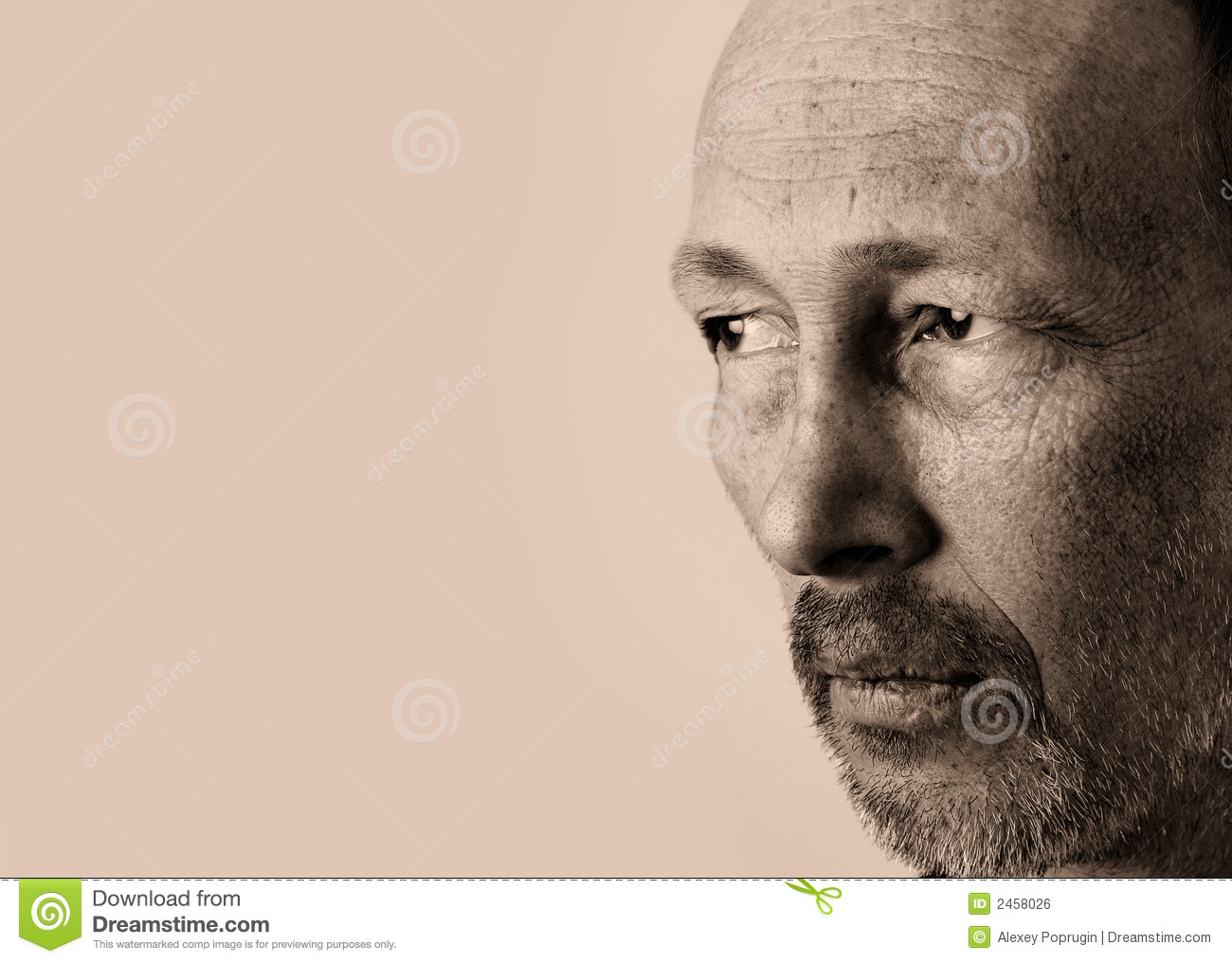 Thinking Man Royalty Free Stock Image - Image: 2458026