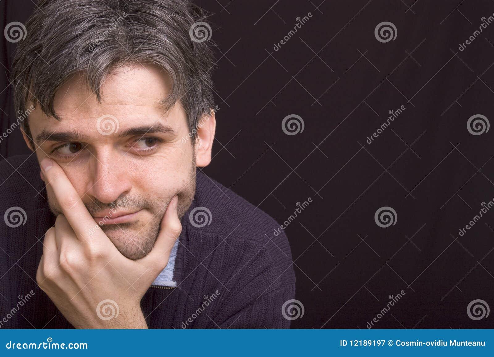 Thinking Man Short Beard Stock Images - Download 658 ...
