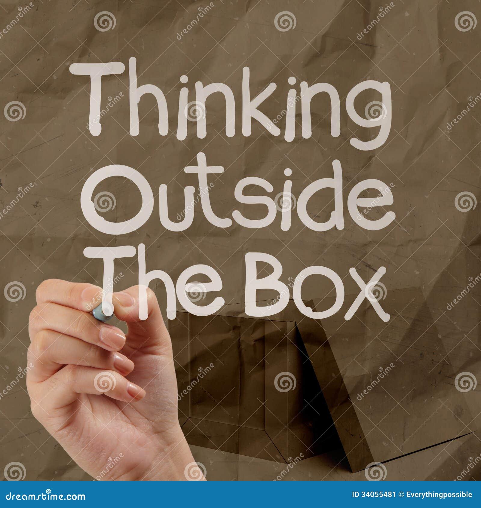Essay thinking outside the box