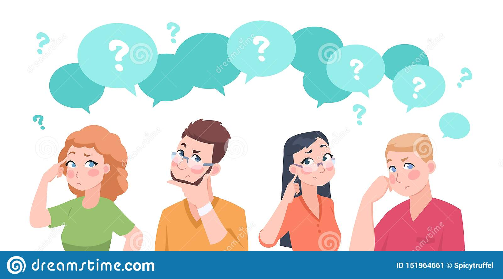 Confused Group Stock Illustrations – 933 Confused Group Stock  Illustrations, Vectors & Clipart - Dreamstime