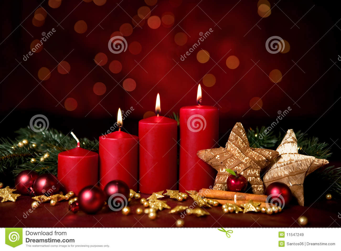 Third Advent Royalty Free Stock Images - Image: 11547249